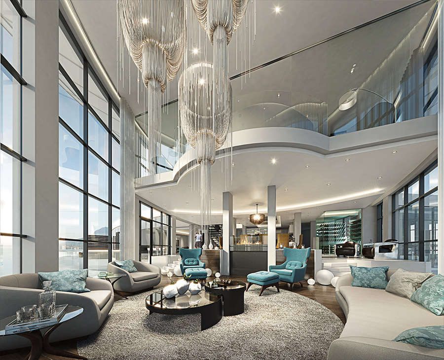 ocean view penthouse